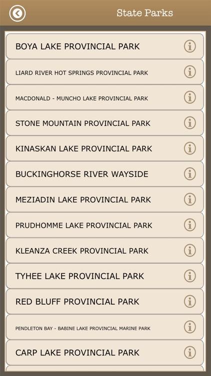 British Columbia-Camping Guide screenshot-4
