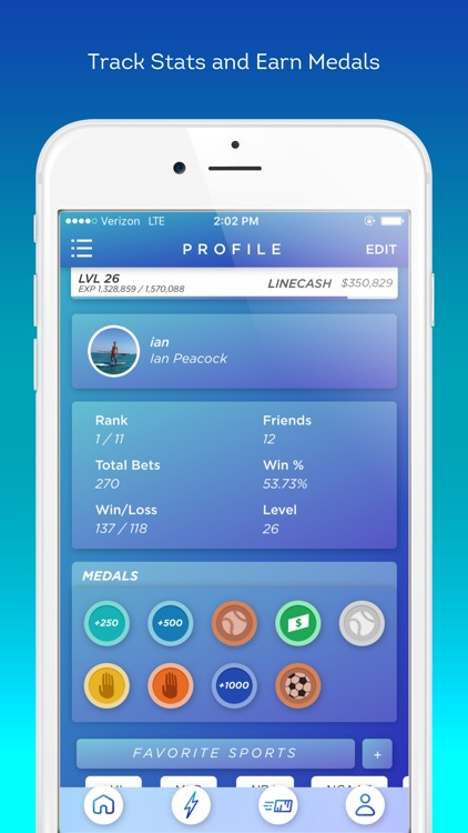 Linedrive: Sports Betting