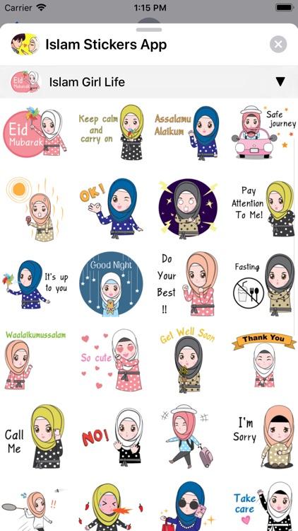 Islam Stickers App screenshot-7