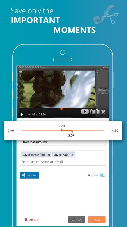 Kloojj–Video Clips & Bookmark screenshot-3