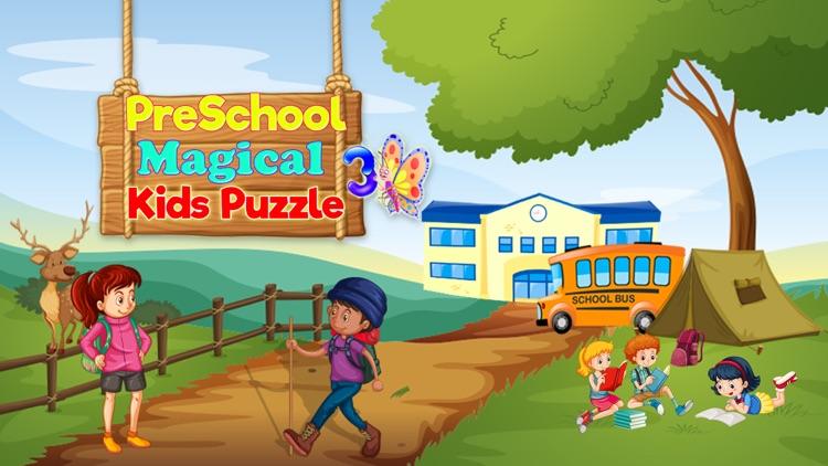 Preschool Magical Kids Puzzle screenshot-4