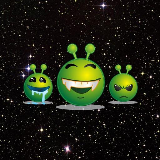 Floyd The Alien Stickers