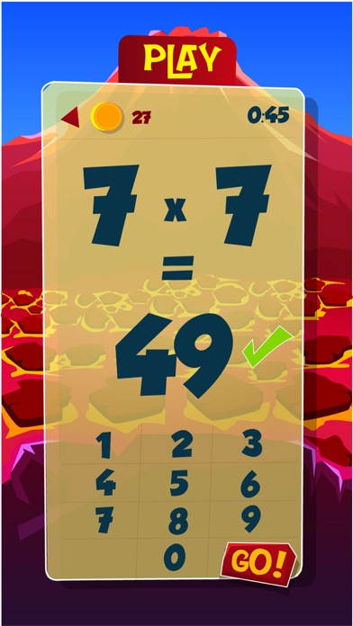 Number Monster Times Tables screenshot four