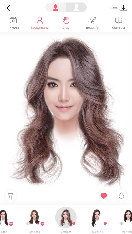 i Hairstyle-hair color changer screenshot-3
