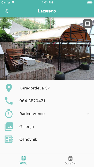 Lazarevac Izlasci screenshot two