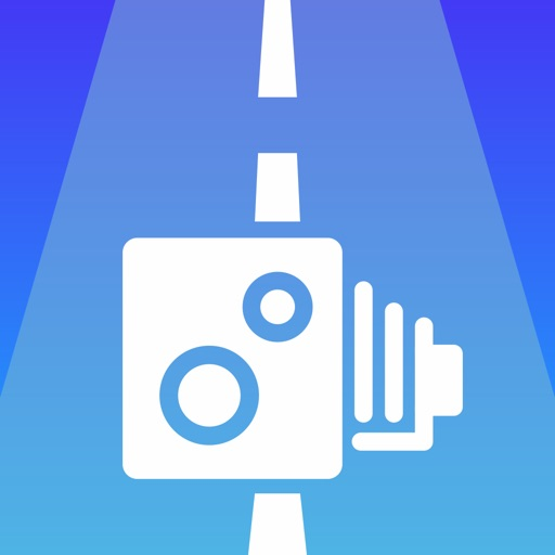 Speedcams detector warnings application logo