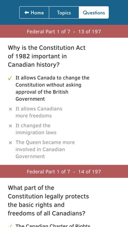 Canadian Citizenship Tests screenshot-4