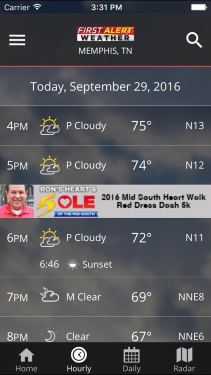 WMC5 First Alert Weather screenshot-3