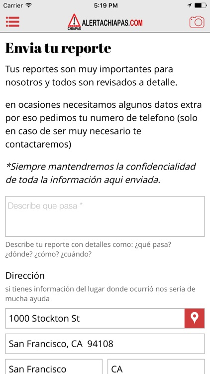 Alerta Chiapas screenshot-3