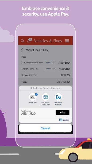 Screenshot for RTA Dubai in United Arab Emirates App Store