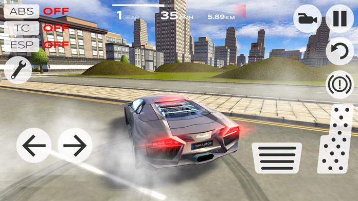 Extreme Car Driving Simulator Screenshot