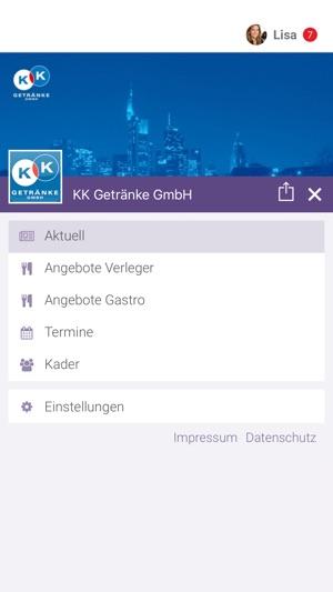 KK Getränke GmbH im App Store