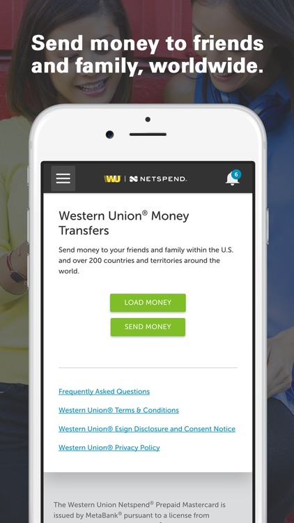Western Union Netspend Prepaid screenshot-1