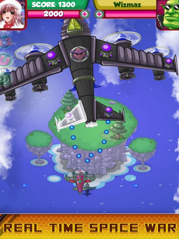 Air Fighter in Galaxy Attack 3 screenshot 4