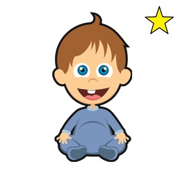 Funny Baby Stickers