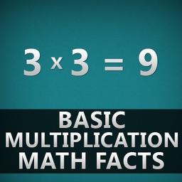 Basic Multiplication Facts Flashcards