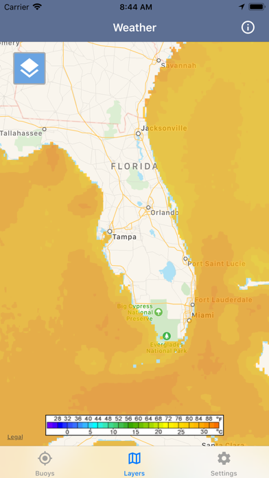 Ocean Water Temperature screenshot 3