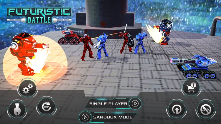 Futuristic Battle Simulator screenshot-0