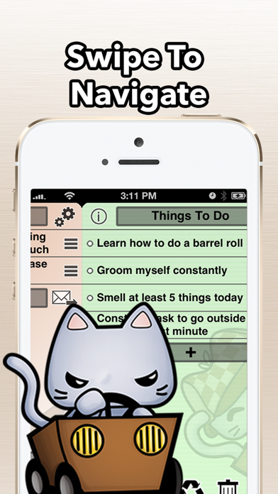 TaskCat - Simple Todo Tasklist Screenshots