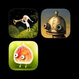 Ícone do app Samorost 3 + Machinarium + Botanicula