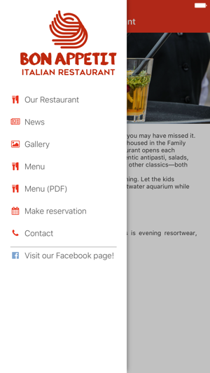 Restaurant Application Template on the App Store