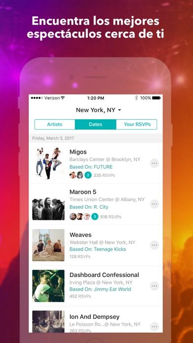 download Bandsintown Concerts apps 3