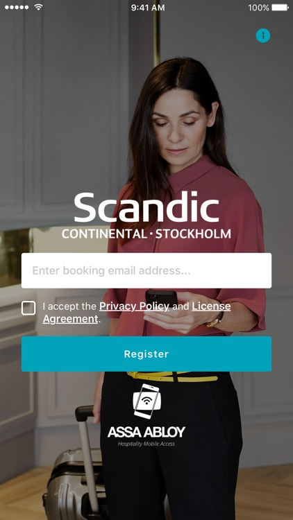 Scandic Continental Key