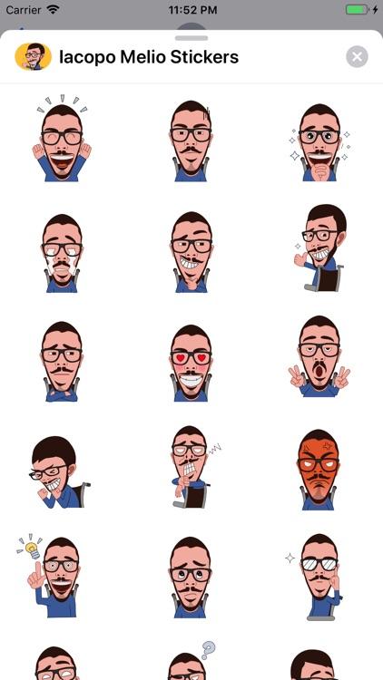 Iacopo Melio Stickers