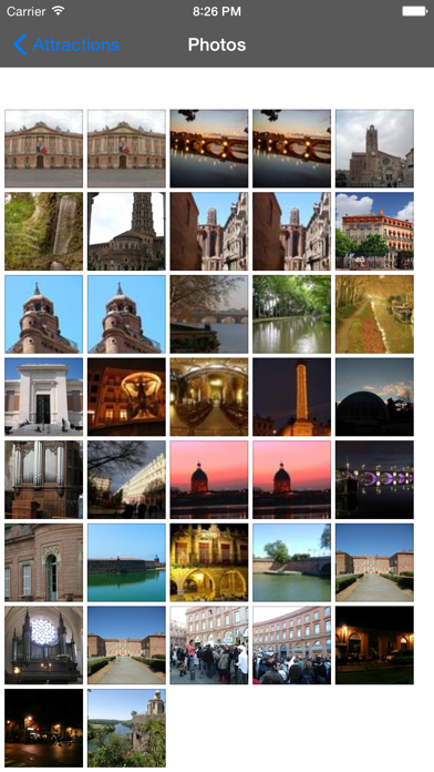 Toulouse Travel Guide Offline screenshot two