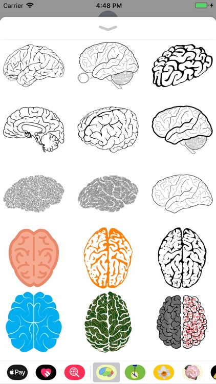 Human Brain Sticker Pack screenshot-3