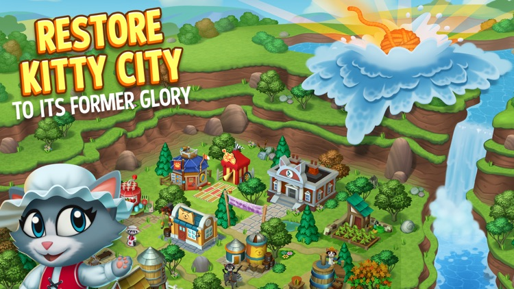Kitty City: Harvest Valley screenshot-0
