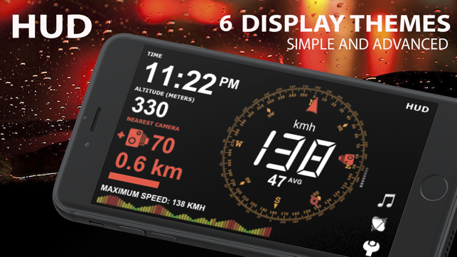 aSmart HUD +SpeedCams Screenshot