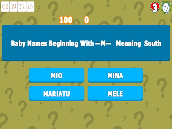 Quiz Your Baby Names M to R screenshot 7