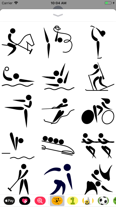 点击获取Sport Pictogram Sticker Pack