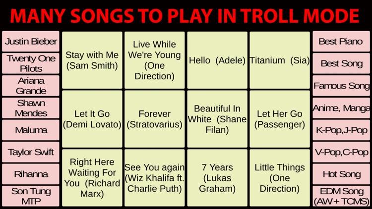 Piano Troll [Piano Prank]