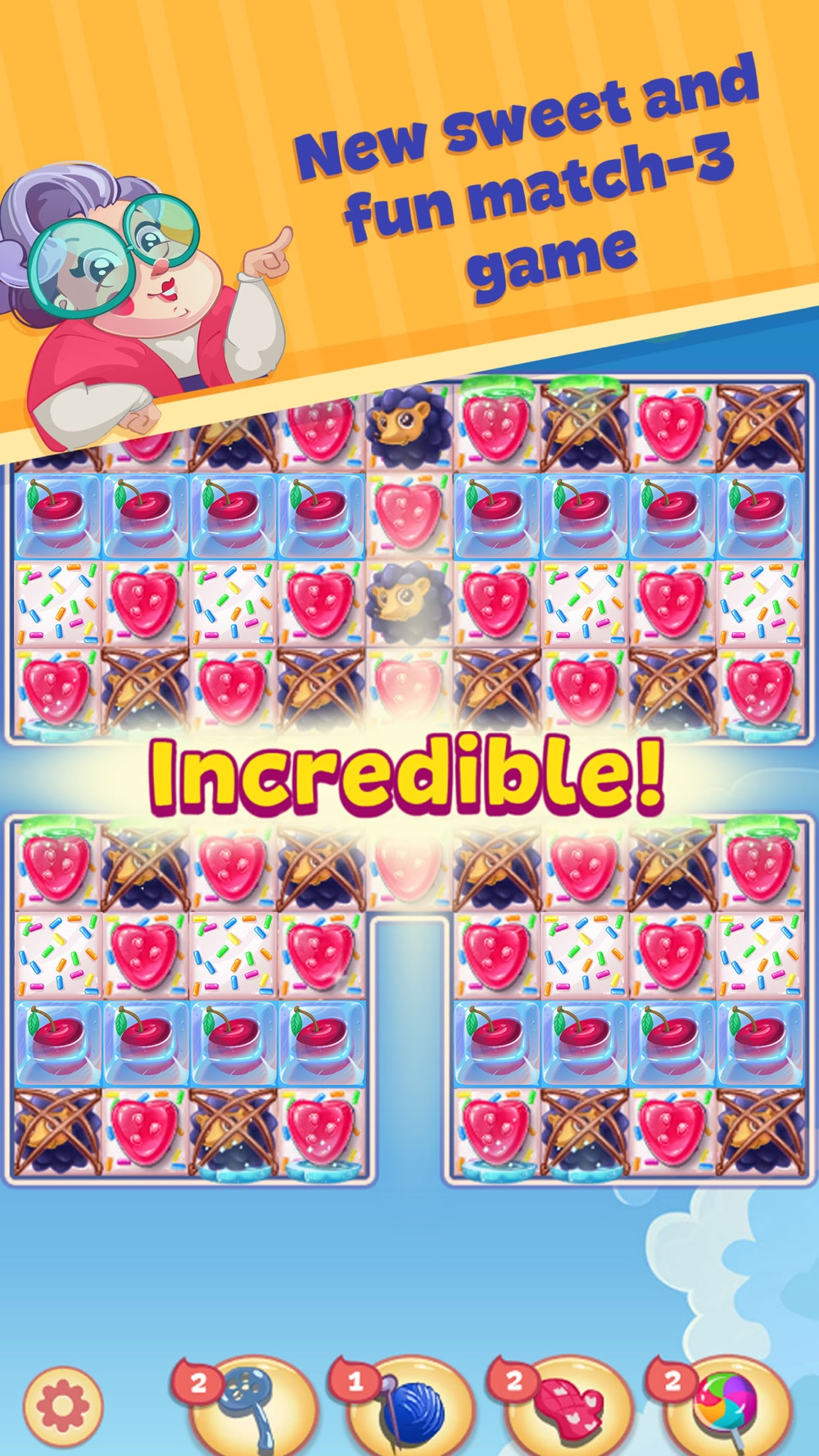 Sweety Kitty: Match-3 Game Cheat Codes