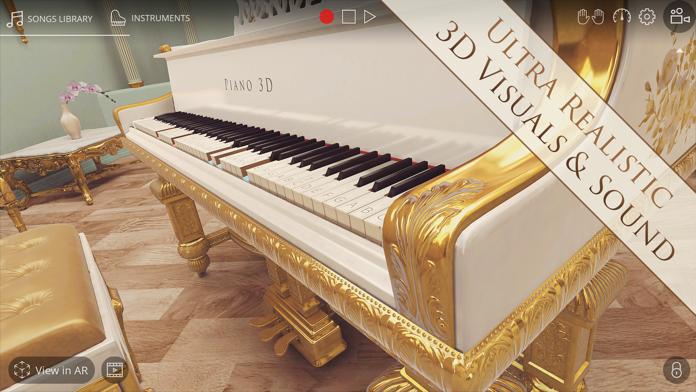 Piano 3D - Real AR Piano App Screenshot