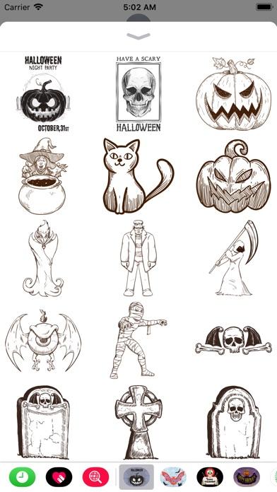 Halloween Sketch Elements screenshot 1