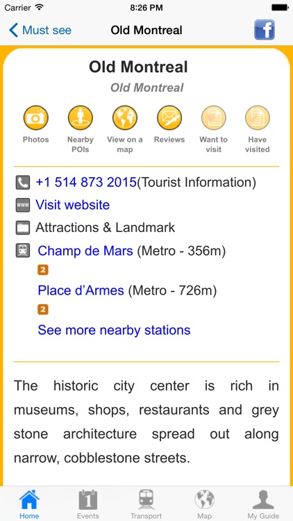 Montreal Travel Guide Offline screenshot-4