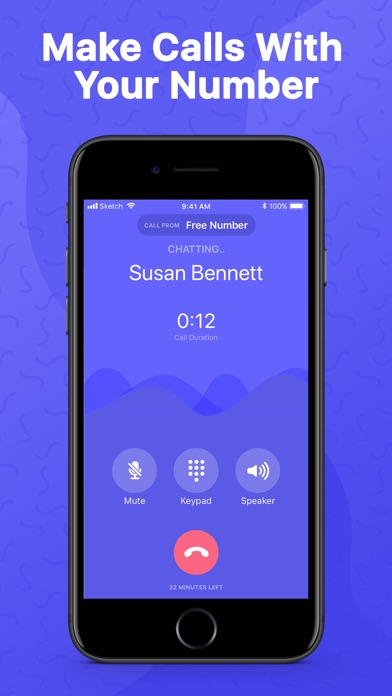 Textr - Second Phone Number Screenshot