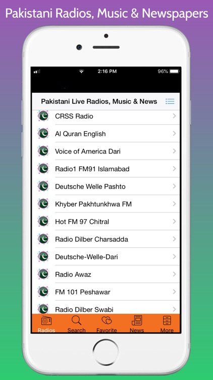Pakistani Radios, Music & News screenshot-6