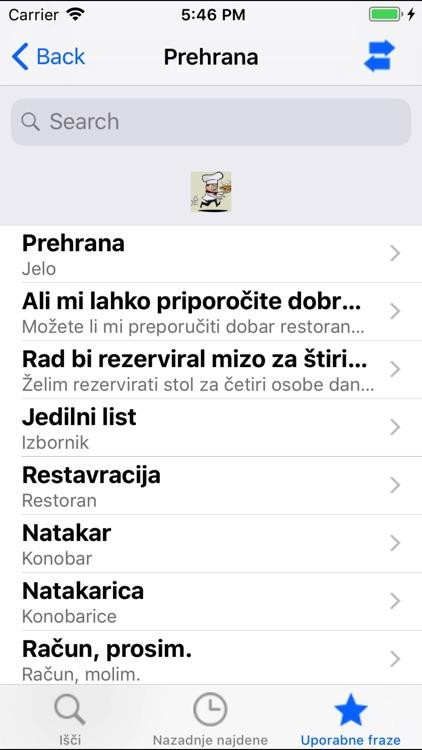 Hrvatsko slovenski riječnik screenshot-3