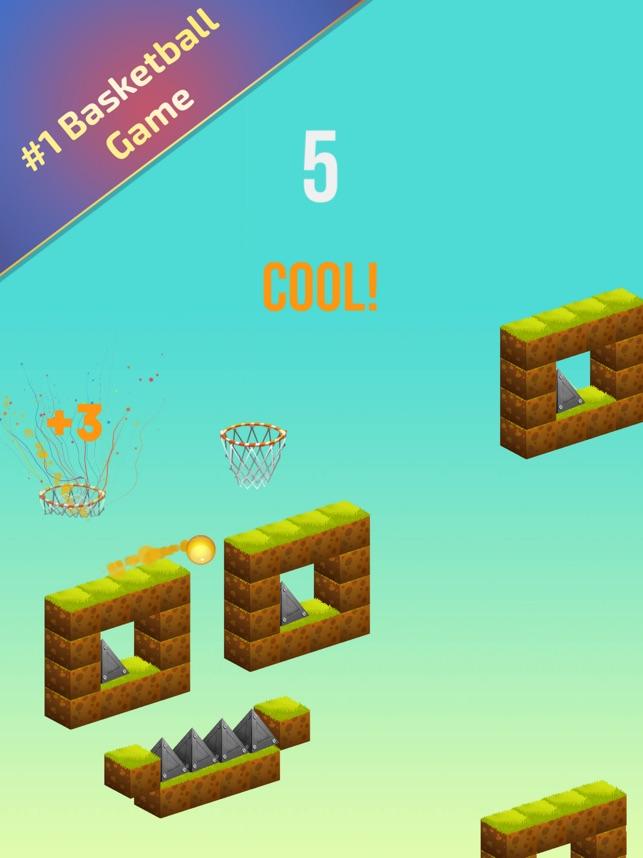 Dunk Rise Basketball Hoop Game Screenshot