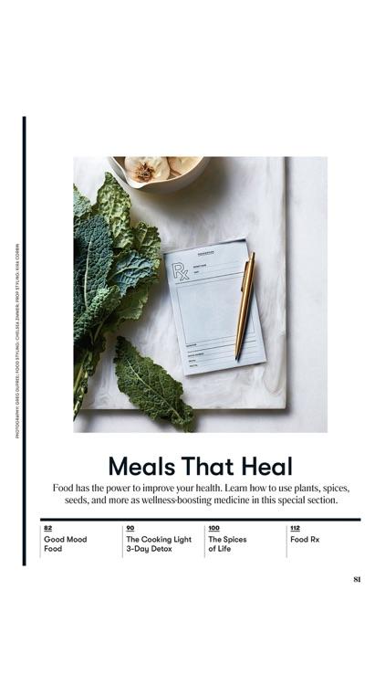 Cooking Light Magazine screenshot-3