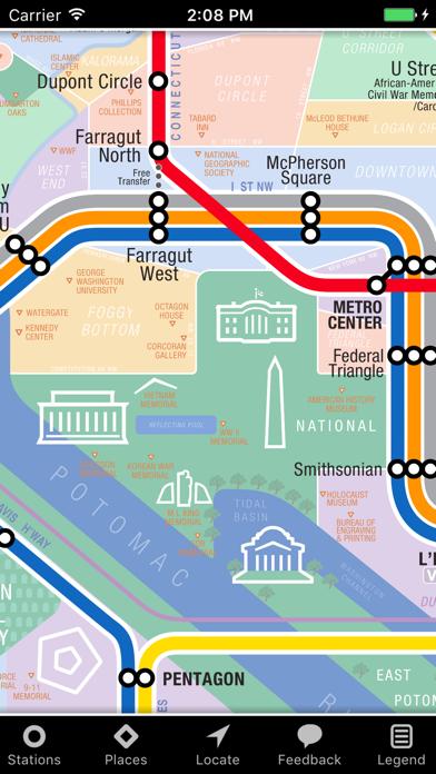 تحميل KickMap Washington DC Metro للكمبيوتر