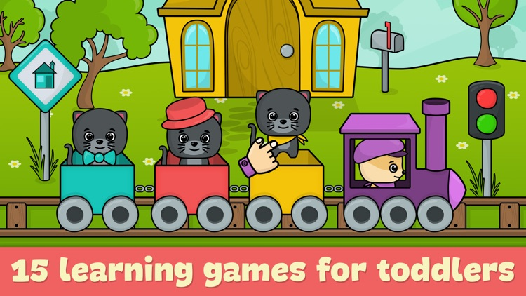 Learning games for toddlers 2+ screenshot-0