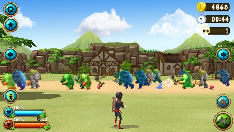 NInja Vs. Monsters screenshot-3
