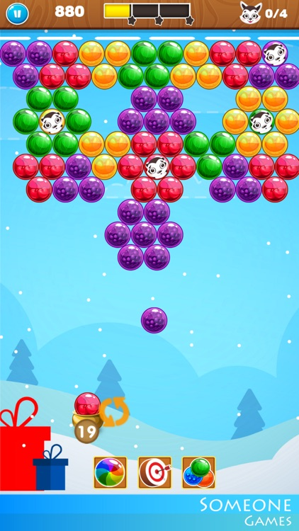 Bubble Shooter Christmas Eve screenshot-4