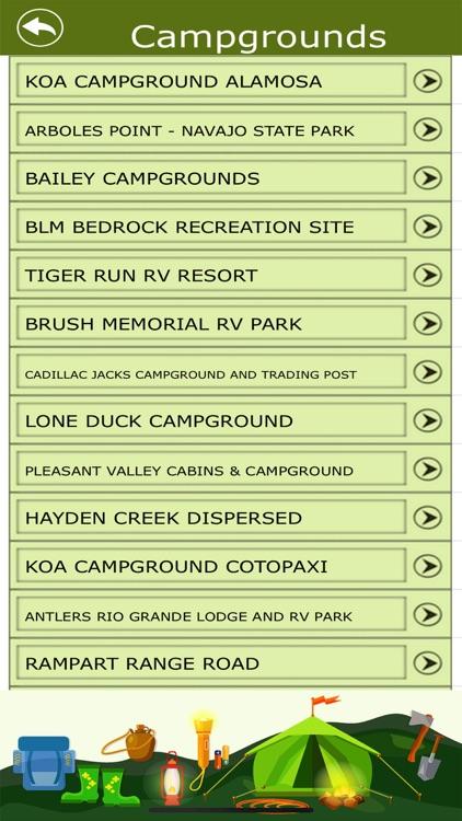 Colorado Campgrounds & Trails screenshot-3