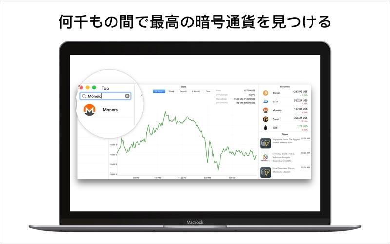 暗号資産(仮想通貨)のチャート(相場)・レート(価格)一覧